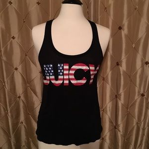 Juicy Couture Patriotic Tank Top Size Small